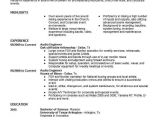 Audio Engineer Resume Audio Engineer Objectives Resume Objective Livecareer