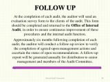 Audit Follow Up Template Internal Audit Framework