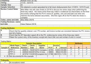 Audit Workpaper Template the Secrets to Excellent Audit Documentation