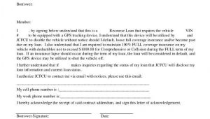 Auto Finance Contract Template 26 Great Loan Agreement Template