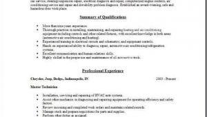Auto Mechanic Resume Template Best Letter Samples Auto Mechanic Resume