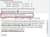 Auto Reply Email Template No Longer with Company How to Master Outlook 39 S Out Of Office Automatic Replies