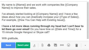 Auto Sales Email Templates 5 Cold Email Templates that Actually Get Responses Bananatag