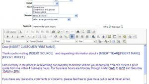 Automatic Email Response Template Auto Response Email Template