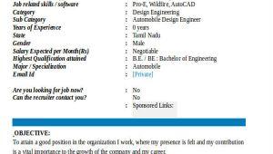 Automobile Engineering Fresher Resume format 55 Engineering Resume Samples Pdf Doc Free Premium