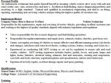 Automobile Service Engineer Resume Vehicle Technician Cv Example Icover org Uk