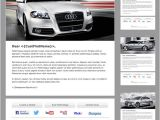 Automotive Email Templates Audi Branded Automotive Dealership Email Newsletter On Behance