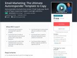 Autoresponder Email Template Comidoc Email Marketing the Ultimate Autoresponder