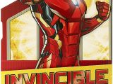 Avengers Happy Birthday Card Template Amazon Com Pop Up Birthday Card Iron Man Birthday Card