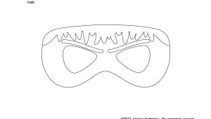 Avengers Mask Template Best Photos Of Hulk Mask Template Printable Hulk Mask