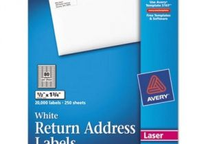 Avery 1 2 X 1 3 4 Template Avery Return Address Labels 1 2 X 1 3 4 White 20000 Box