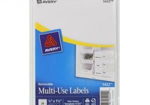 Avery 1 2 X 1 3 4 Template Quot Avery Removable Multi Use Labels 1 2 X 1 3 4 White 840