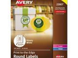 Avery 1 Inch Round Labels Template Avery Print to the Edge Round Labels Ave22807 Ebay