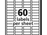 Avery 10 Labels Per Sheet Template Avery 60 Labels Per Sheet Template Pccatlantic