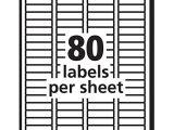 Avery 3 Column Label Template Avery Easy Peel Return Address Labels Permanent Adhesive