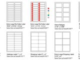 Avery 3 Column Label Template Avery Hanging File Labels Template Templates Data