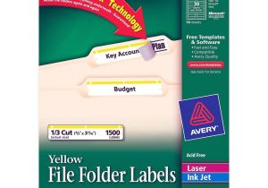 Avery 30 Label Template 5366 Avery Filing Labels Ld Products