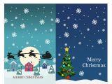 Avery 3379 Blank Template Christmas Notecards Christmas Spirit Design 2 Per Page