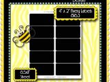 Avery 4×2 Label Template Squares Rectangles Bottlecap Buzz