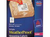 Avery 5524 Template Avery Weatherproof Shipping Labels W Trueblock Laser