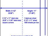 Avery 8.5 X 11 Label Template Full Sheet Labels Blank Full Sheet Labels Similar to