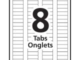 Avery 8 Tab Template Download Avery Index Maker Clear Label Dividers Grand toy