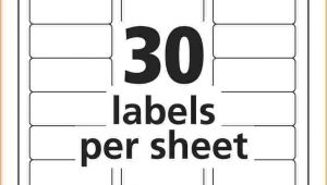 Avery 8160 Address Label Template Address Label Template Avery 8160 Templates Resume
