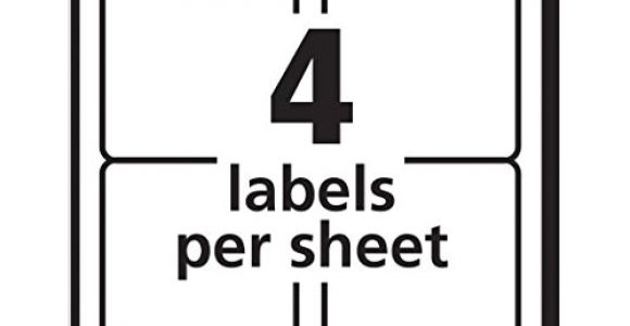 Avery 8168 Template Avery Shipping Labels with Trueblock Technology for Inkjet