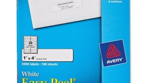 Avery Address Label Template 5161 Printer
