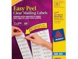 Avery Address Labels Template 18660 Avery Avery Easy Peel Inkjet Mailing Labels 1 X 2 5 8