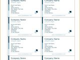 Avery Business Cards Template 28878 Avery Card Template