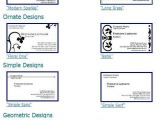 Avery Business Cards Template 8371 7 Printable Business Card Template 8371 Images 8371