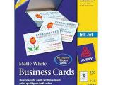 Avery Business Cards Template 8371 Avery 8371 Perforated Inkjet Business Card by Avery