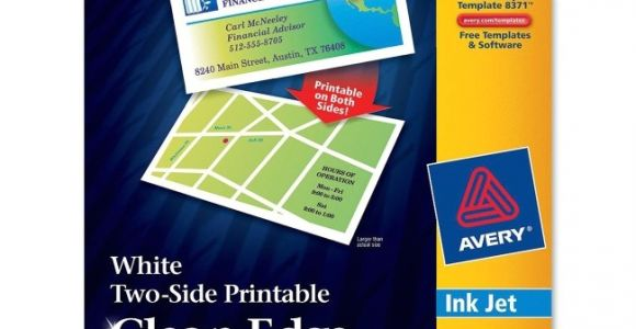 Avery Business Cards Template 8871 Printer