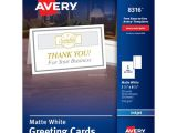 Avery Card Templates Half Fold Bettymills Avery Half Fold Greeting Cards with Envelopes