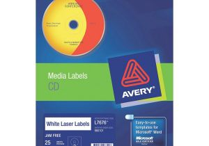 Avery Cd Label Template L7676 Avery Laser Labels L7676 2up Cd Dvd Cos Complete