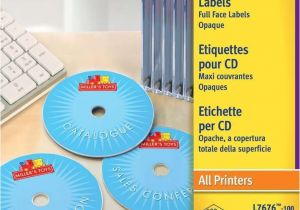 Avery Cd Label Template L7676 Cd Labels L7676 100 Avery