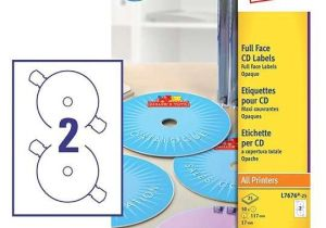 Avery Cd Label Template L7676 Cd Labels L7676 25 Avery