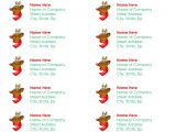 Avery Christmas Templates 6 Best Images Of Printable Christmas Labels On Avery