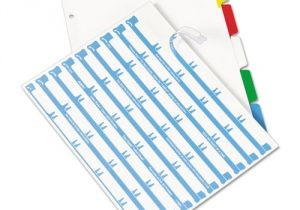 Avery Clear Label Dividers 5-tab Template Ave11406 Avery Index Maker Print Apply Clear Label