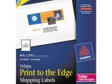 Avery Computer Labels 4013 Template Superwarehouse Avery Color 4 3 4 Quot X 7 3 4 Quot Printing