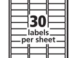 Avery Easy Peel Labels Template 5160 Unique Free Address Label Templates Best Templates