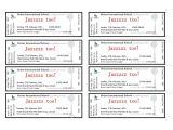 Avery event Ticket Template Avery Raffle Ticket Template Mybissim Com