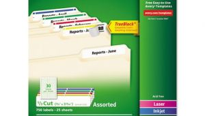 Avery File Folder Label Templates Ave5266 Avery Permanent File Folder Labels Zuma