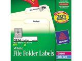 Avery File Folder Label Templates Ave75366 Avery Permanent File Folder Labels Zuma
