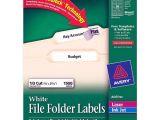 Avery File Folder Labels 5366 Template Printer