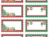 Avery Gift Tag Template Christmas Christmas Labels Ready to Print Worldlabel Blog