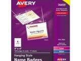 Avery Hanging Name Badges 74459 Template Avery Hanging Name Badges Ave74459 Ebay