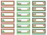 Avery Holiday Labels Templates Christmas Labels Ready to Print Worldlabel Blog