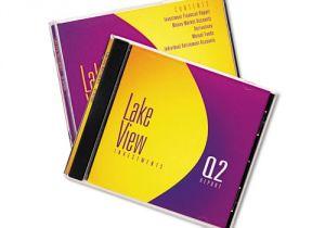 Avery Jewel Case Insert Template Inkjet Cd Dvd Jewel Case Inserts Matte White 20 Pack